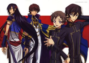 Rating: Safe Score: 7 Tags: code_geass kururugi_suzaku lelouch_lamperouge li_xingke male rollo_lamperouge sakou_yukie User: Aurelia