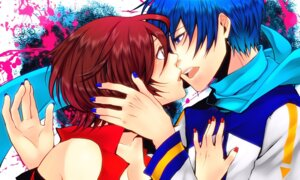 Rating: Safe Score: 5 Tags: kaito meiko nez-doll vocaloid User: Radioactive
