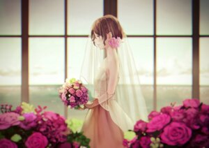 Rating: Safe Score: 27 Tags: dress see_through wedding_dress yujikazakiri User: Mr_GT