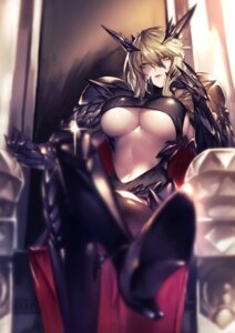 Rating: Safe Score: 87 Tags: armor artoria_pendragon_alter_(fate/grand_order) fate/grand_order heels horns kyouya underboob User: Mr_GT