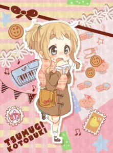 Rating: Safe Score: 30 Tags: chibi futomayu k-on! kotobuki_tsumugi User: Nekotsúh