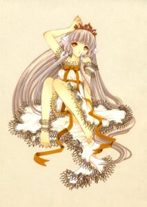 Rating: Safe Score: 14 Tags: chii chobits clamp dress feet garter User: Share
