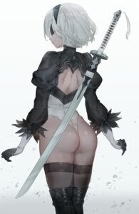 Rating: Questionable Score: 81 Tags: ass leotard nier_automata sword thighhighs yohan1754 yorha_no.2_type_b User: Mr_GT