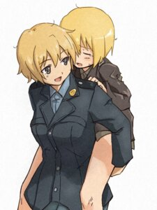 Rating: Safe Score: 7 Tags: erica_hartmann shiba_murashouji strike_witches waltrud_krupinski User: Radioactive