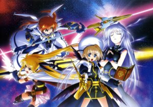Rating: Safe Score: 18 Tags: fate_testarossa mahou_shoujo_lyrical_nanoha mahou_shoujo_lyrical_nanoha_a's mahou_shoujo_lyrical_nanoha_the_movie_2nd_a's reinforce takamachi_nanoha yagami_hayate User: drop