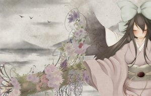 Rating: Safe Score: 23 Tags: kimono reiuji_utsuho suiren_(pixiv65889) touhou wings User: vanilla