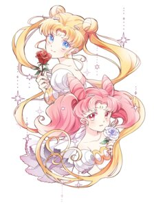 Rating: Safe Score: 14 Tags: chibiusa iku1539 sailor_moon tsukino_usagi User: Riven