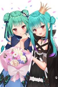 Rating: Safe Score: 19 Tags: dress gothic_lolita hololive lolita_fashion saki_(saki_paint) uruha_rushia User: Mr_GT