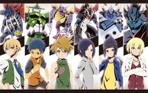 Rating: Safe Score: 20 Tags: aonuma_kiriha digimon digimon_adventure digimon_adventure_02 digimon_data_squad digimon_frontier digimon_tamers digimon_xros_wars greymon hajime-ill-1st ichijoji_ken imperialdramon ishida_yamato jianliang_lee magnagarurumon male megagargomon metalgururumon minamoto_koji miragegaogamon tohma_h_norstein wallpaper User: krazy-kun