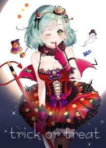 Rating: Safe Score: 8 Tags: bang_dream! halloween hikawa_hina horns puckjjick tail thighhighs weapon wings User: Mr_GT