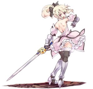Rating: Questionable Score: 40 Tags: armor ass cosplay fate/kaleid_liner_prisma_illya fate/stay_night heels illyasviel_von_einzbern loli pantsu saber saber_lily skirt_lift sword tagme thighhighs User: Radioactive