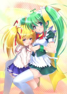 Rating: Safe Score: 21 Tags: goto-p lemon-chan maid melonbooks melon-chan thighhighs User: fireattack
