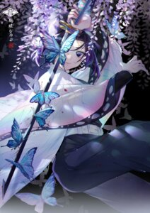 Rating: Questionable Score: 46 Tags: ekita_gen kimetsu_no_yaiba kochou_shinobu sword User: Dreista