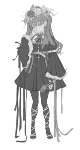 Rating: Questionable Score: 11 Tags: freng gothic_lolita lolita_fashion monochrome pantyhose tagme User: Dreista