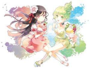 Rating: Safe Score: 12 Tags: cleavage dress seal_muruke User: animeprincess