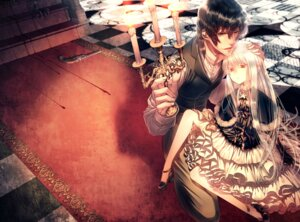 Rating: Safe Score: 22 Tags: blood dress gun heels shijuuhachi User: charunetra