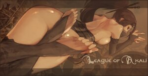 Rating: Questionable Score: 61 Tags: akali dutomaster feet league_of_legends naked thighhighs User: Anemone