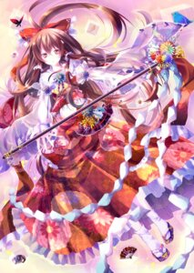 Rating: Safe Score: 34 Tags: hakurei_reimu miko riichu touhou User: 椎名深夏