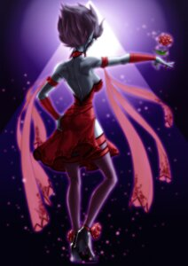 Rating: Safe Score: 13 Tags: dress evelynn league_of_legends ranger_squirrel thighhighs User: charunetra