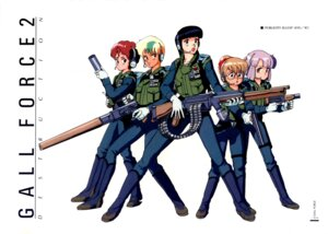 Rating: Safe Score: 3 Tags: amy_(gall_force) catty gall_force gun lufy megane shildy sonoda_kenichi spea uniform User: Radioactive