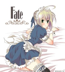 Rating: Safe Score: 22 Tags: dress fate/stay_night maid re____ saber User: omegakung