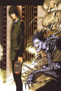 Rating: Safe Score: 7 Tags: death_note male mikami_teru obata_takeshi ryuk User: Radioactive