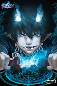Rating: Safe Score: 11 Tags: ao_no_exorcist monkey_buonarroti okumura_rin User: sylver650