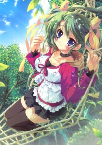 Rating: Safe Score: 98 Tags: cleavage hisuitei izumi_tsubasu melonbooks melon-chan thighhighs User: crim