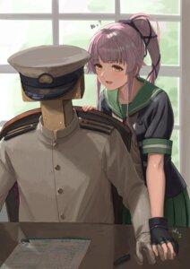 Rating: Safe Score: 10 Tags: admiral_(kancolle) kantai_collection seifuku tagme tantaka uniform yura_(kancolle) User: Dreista