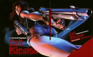 Rating: Safe Score: 19 Tags: ass black_lagoon gun hiroe_rei revy User: drop
