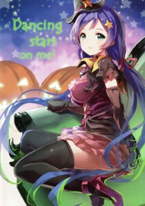 Rating: Safe Score: 46 Tags: 77gl halloween heels love_live! thighhighs toujou_nozomi User: yong