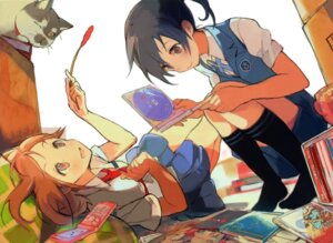 Rating: Safe Score: 39 Tags: miyamoto_konatsu sakai_wakana seifuku tanu tari_tari User: Twinsenzw