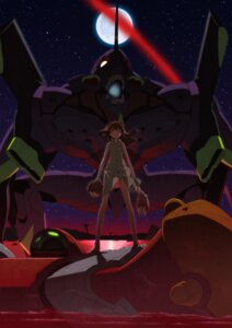Rating: Safe Score: 20 Tags: bandages dress eva_01 eva_02 eyepatch mecha neon_genesis_evangelion souryuu_asuka_langley summer_dress tateishi_kiyoshi User: eridani