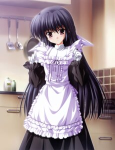 Rating: Safe Score: 47 Tags: amamiya_yuuko ef_~a_fairytale_of_the_two~ maid nanao_naru User: Radioactive
