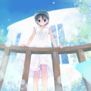 Rating: Safe Score: 13 Tags: dress ikeda_jun summer_dress User: Radioactive