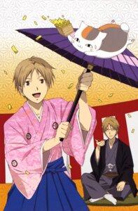 Rating: Safe Score: 5 Tags: kimono male megane natori_shuuichi natsume_takashi natsume_yuujinchou neko nyanko User: Radioactive