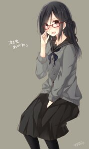 Rating: Safe Score: 37 Tags: megane seifuku sweater yamasuta User: hamasen205