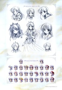 Rating: Safe Score: 5 Tags: bekkankou feena_fam_earthlight sketch yoake_mae_yori_ruriiro_na User: admin2