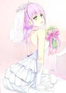 Rating: Safe Score: 61 Tags: dress pellagra thighhighs wedding_dress User: blooregardo