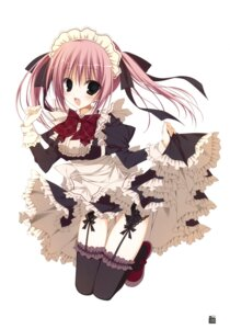 Rating: Safe Score: 36 Tags: garter_belt inugami_kira maid stockings thighhighs User: crim