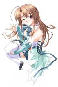 Rating: Safe Score: 21 Tags: cleavage hashimoto_takashi pia_carrot takai_sayaka thighhighs User: kyoushiro
