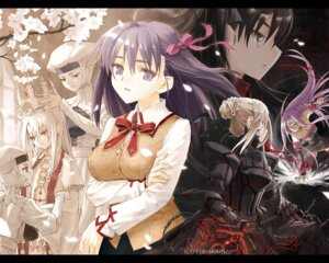 Rating: Safe Score: 25 Tags: fate/stay_night illyasviel_von_einzbern konoe_ototsugu leysritt matou_sakura rider saber saber_alter seifuku sella toosaka_rin type-moon wallpaper User: jxh2154