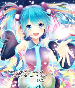 Rating: Safe Score: 24 Tags: akiyoshi hatsune_miku headphones tattoo vocaloid User: nphuongsun93