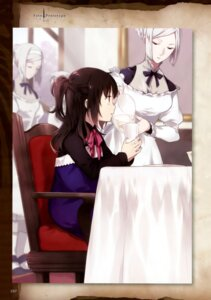 Rating: Safe Score: 29 Tags: fate/prototype fate/stay_night maid nakahara reiroukan_misaya type-moon User: drop