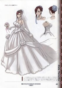 Rating: Safe Score: 6 Tags: bleed_through cleavage dress honjou_raita scanning_dust senjou_no_valkyria_3 wedding_dress User: Radioactive