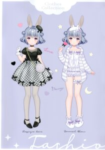 Rating: Questionable Score: 22 Tags: animal_ears bloomers bunny_ears character_design garter heels lingerie pantyhose w.label wasabi_(artist) User: Radioactive