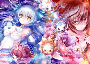 Rating: Safe Score: 28 Tags: cadena chibi chimochi cleavage devil dress elf horns lucent_heart pointy_ears theia witch User: yumichi-sama