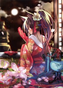 Rating: Safe Score: 30 Tags: amakawa_sakko animal_ears tagme yukata User: Twinsenzw