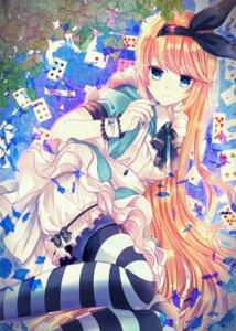 Rating: Safe Score: 36 Tags: alice alice_in_wonderland bloomers dress mayoko_na_kuroneko pantyhose User: Mr_GT