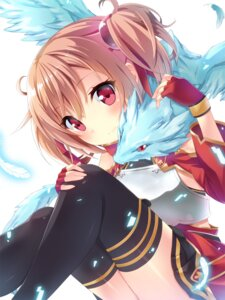 Rating: Safe Score: 65 Tags: keito_(kazamatuli) pina silica sword_art_online thighhighs User: 椎名深夏